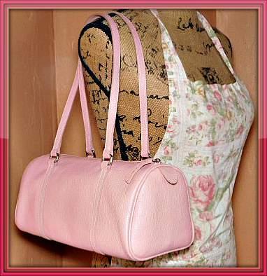 Pastel Irish Pink Dooney Barrel Dooney Bourke Satchel