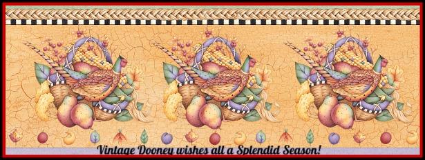 Vintage Dooney and Bourke Handbags Season Best Wishes