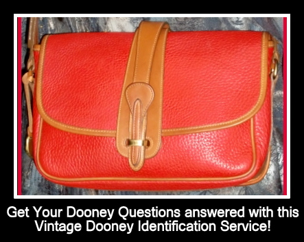 Vintage Dooney and Bourke ID Research Service