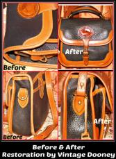All-Weather Leather Vintage Dooney Restoration Service