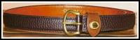 Vintage Dooney Large AWL Black Belt