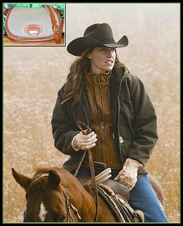 Vintage Dooney Horseshoe Bag