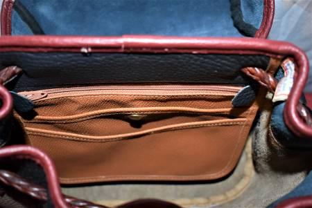 Vintage Dooney & Bourke Saddle Bag