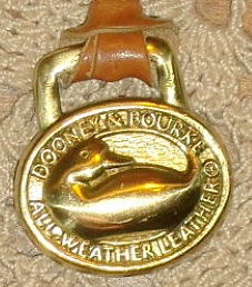 Shiny Vintage Dooney Duck FOB