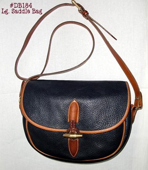 Round Up Time! Vintage Dooney Equestrian Saddle Bag