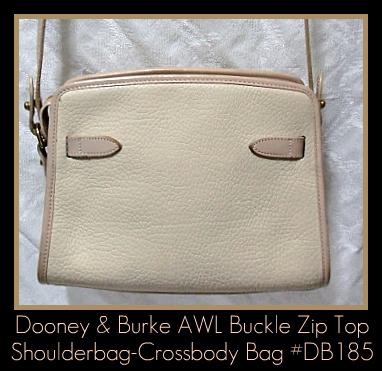 Dooney & Bourke All Weather Leather Zip Top Shoulderbag