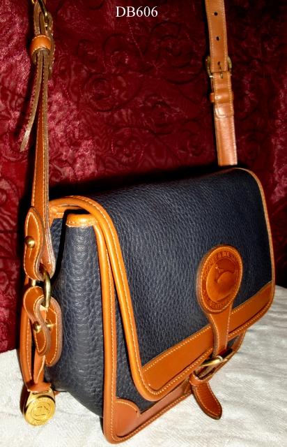 SOLD!!! Dooney & Bourke AWL  Square Surrey Crossbody/Shoulder Bag