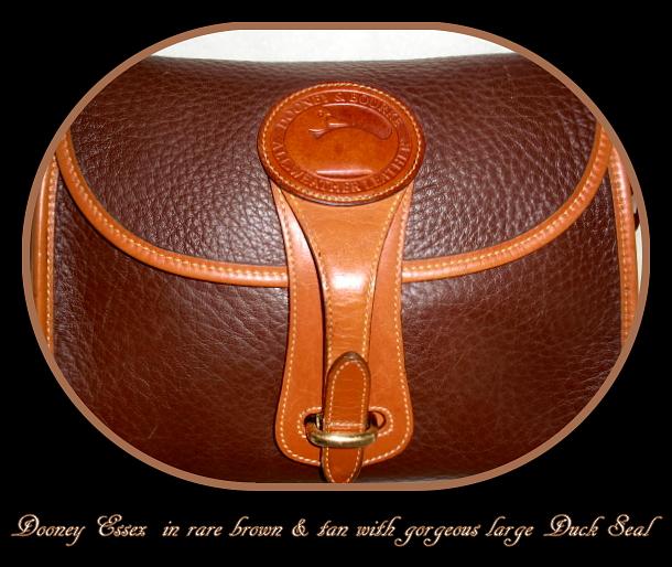 SOLD!!! Essex Rare Rouge Color Vintage Dooney Bag