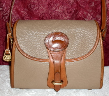 SOLD!!! Taupe Dooney & Bourke AWL Essex Crossbody/Shoulder Bag