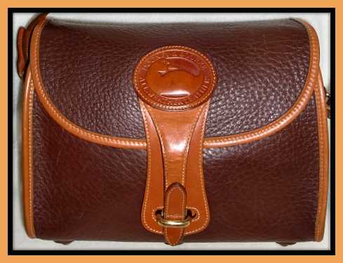 SOLD!!! Essex Rare Rouge Color Vintage Dooney Bag